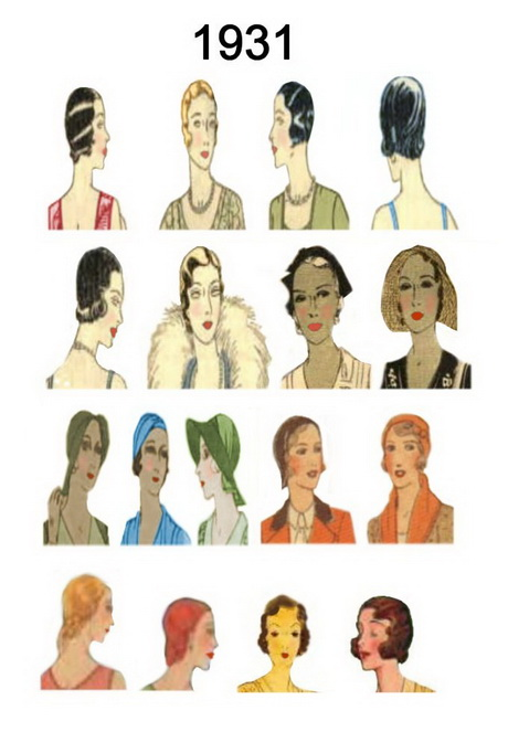 1930s hairstyles for long hair