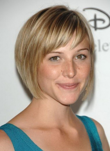 2014 short hairstyles for round faces