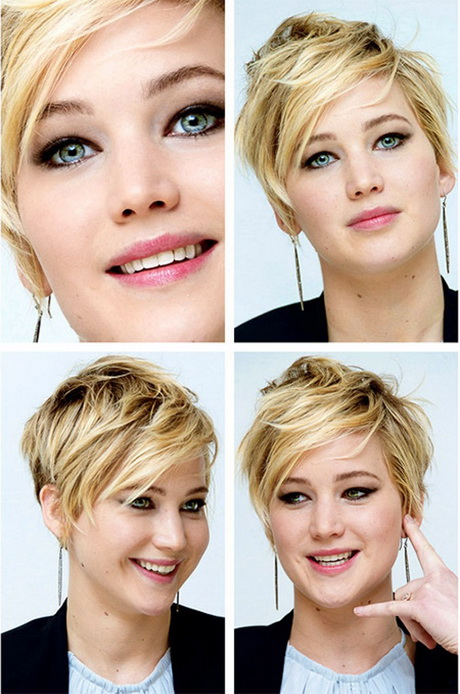 Short edgy haircuts for round faces