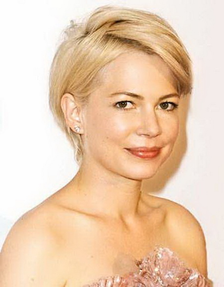 Round Full Face Women Hairstyles For Short Hair Popular
