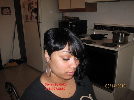 Photo Gallery of The 27 Piece Quick Weave Short Hairstyle