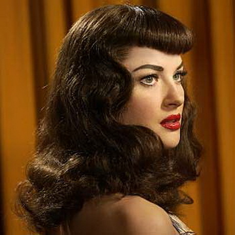 Creative Vintage Hairstyles For Long Hair 2015  Vintage Hairstyles For Wavy