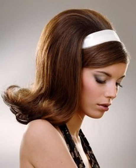 60s Hairstyles for Long Hair with Headbands