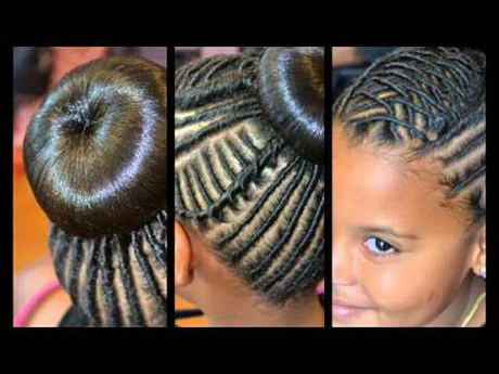 African Braids Hairstyles For Kids