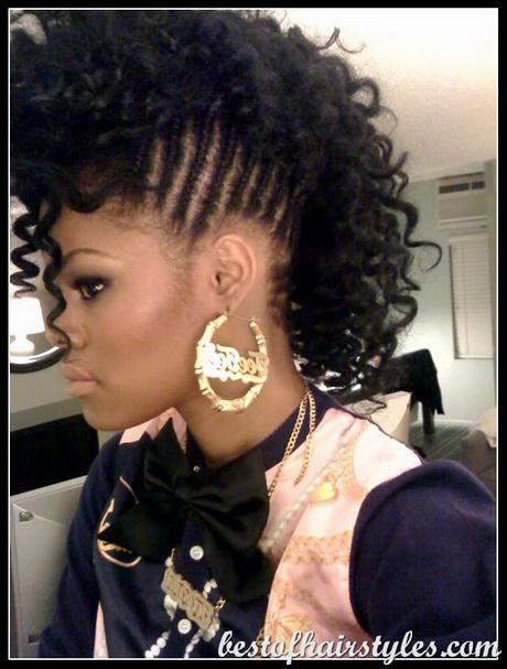 Under Braid Hairstyles For Black Women
