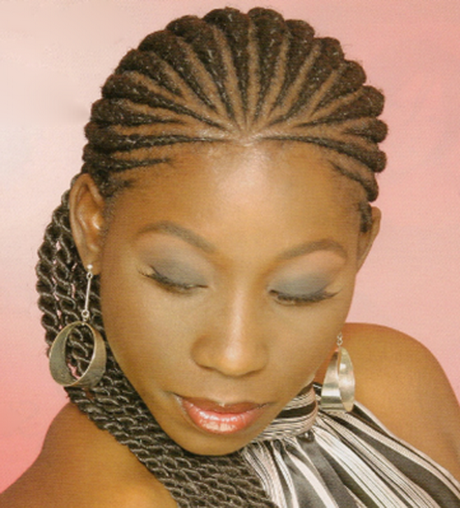 african braids cornrows bun picture. Photo 82 of 133; Previous middot ...