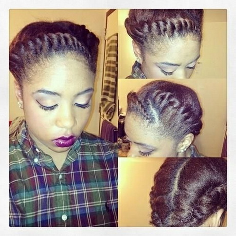 fringe bangs hairstyles : french braid styles for african american women