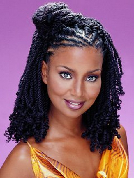 Creative Women Senegalese Twists  Senegalese Twist Braids Updo  Hairstyle