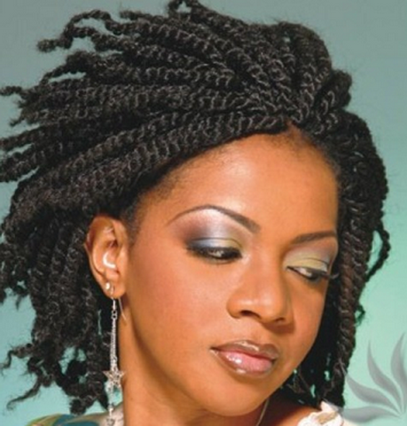 strand twists braids protective hairstyle. two strand twists braids