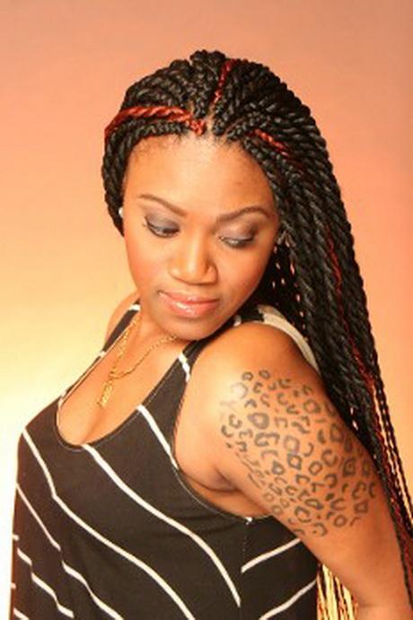 African Twist Hairstyles