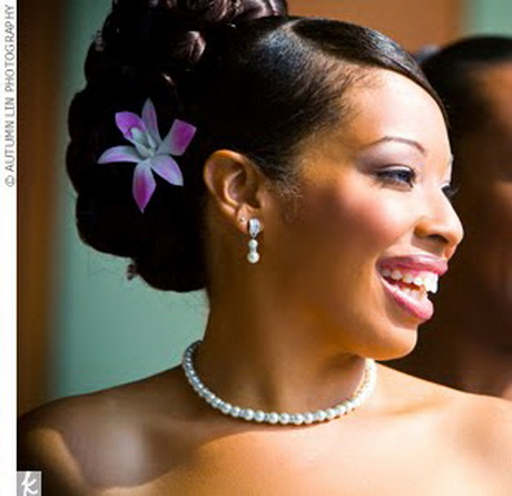 Wedding Hairstyles For Black Hair Women 2