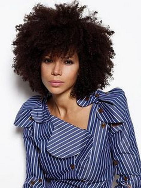hairstyles for kinky curly hair : Curly Afro Hairstyles Pics