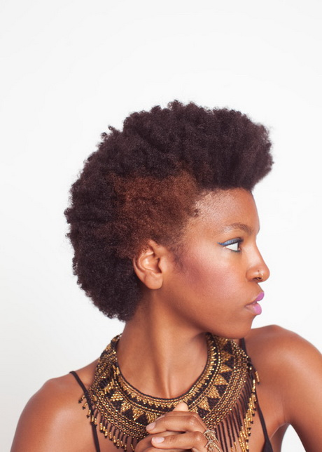 age 50 hairstyles : ... are here: Home / Natural Hair Styles / Afro Puff: Natural Inspirations