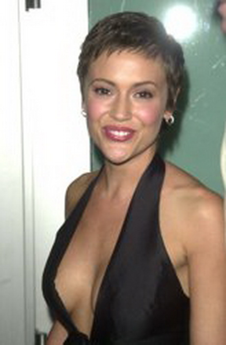 Alyssa Milano Dark Hair Color | Dark Brown Hairs
