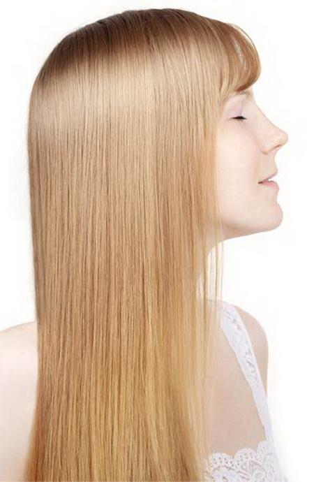 long hair angled haircut these bangs keep long hair out of