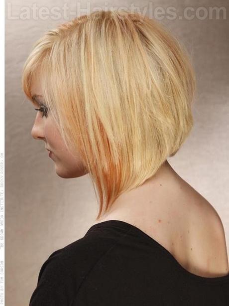 Angled Medium Hairstyles