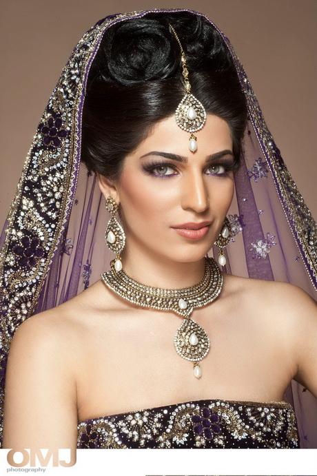 Unique Bridal Makeup : Asian bridal hairstyles