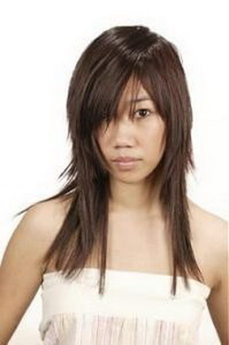 asian long layered haircut
