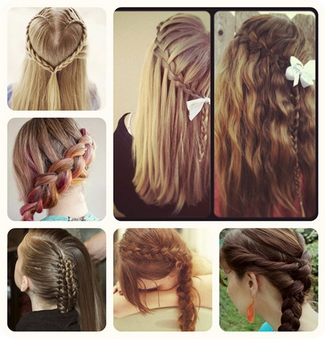 Hairstyles For Long Hair School : Back to school hairstyles for long hair