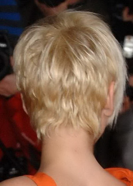 Hairstyles Back View : pixie haircut back view
