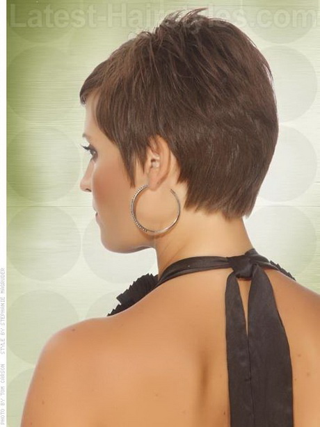 ... Related Pictures Hairstyle Back View Pixie Haircut 2011 Pixel Girls