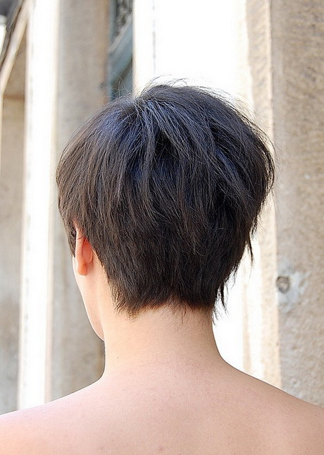 very short bob hairstyles back view back view of short haircuts for women