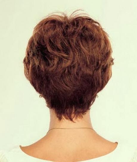 Short Layered Haircuts Front And Back View: Back View Of Short Haircuts