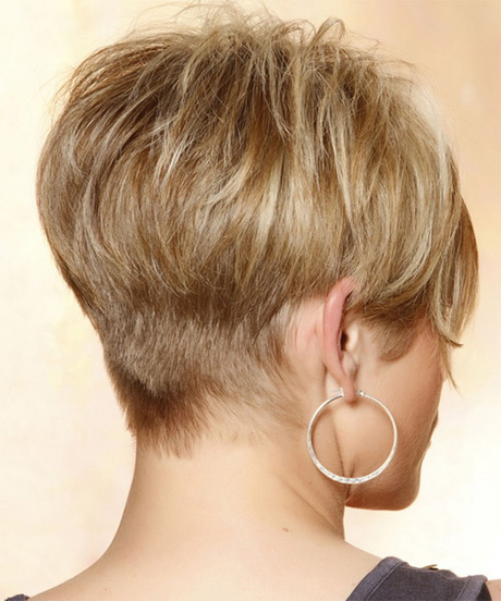 Short Textured Bob Hairstyles Back View Treating Short Bob Hairstyles ...
