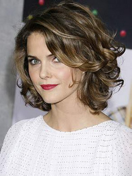 below the shoulder hairstyles : Beautiful Short Hairstyles for Women Curly Hair
