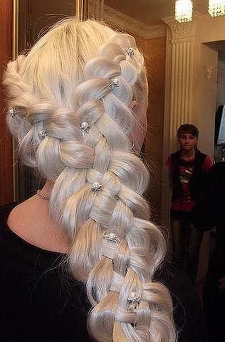 Красивое плетение кос для свадьбы