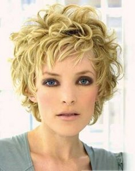 Short Curly Haircuts : Short Hairstyles for Older Women with Thick Wavy Hair 2014