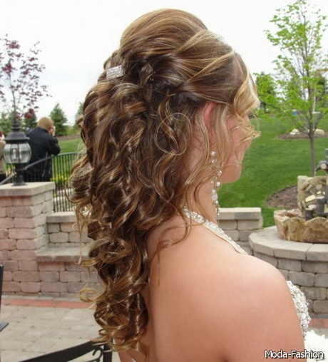 Prom Hairstyles Half Up Half Down View Image