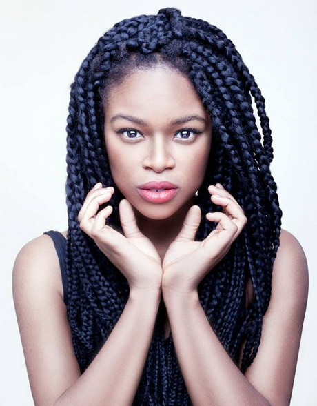 layered sew in weave hairstyles : Big braid hairstyles