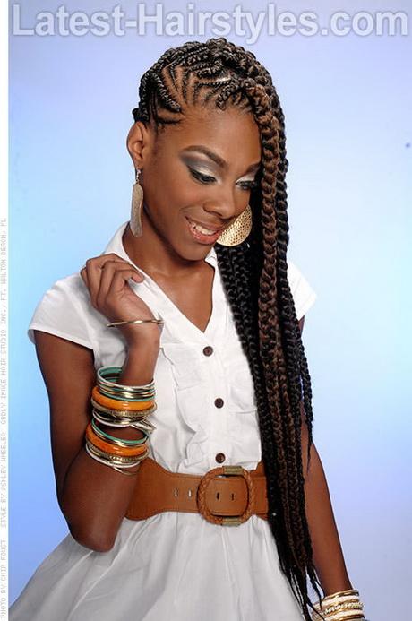 layered sew in weave hairstyles : Alert: BIG Braids. Versatile styles like the Big Braid Mohawk Braided ...