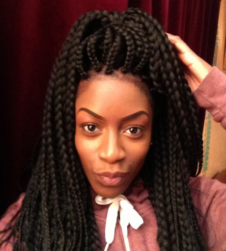 Braids are great for black hair and ensure that damaged hair from ...