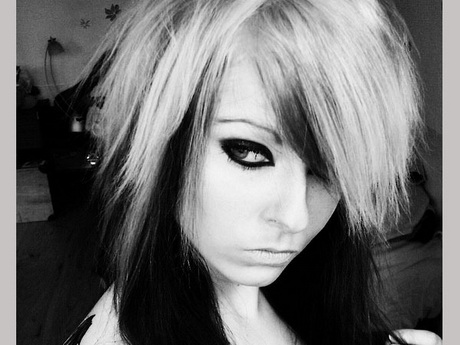 Black and white hairstyles