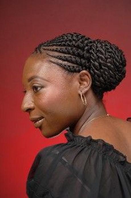 Black Braided Updo Hairstyles