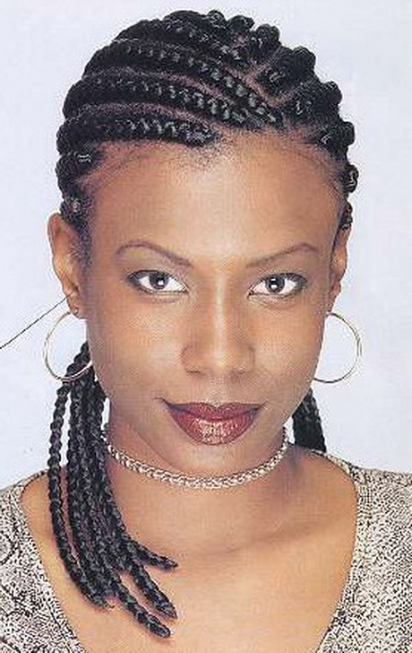Galerry black hairstyles with braids and weave