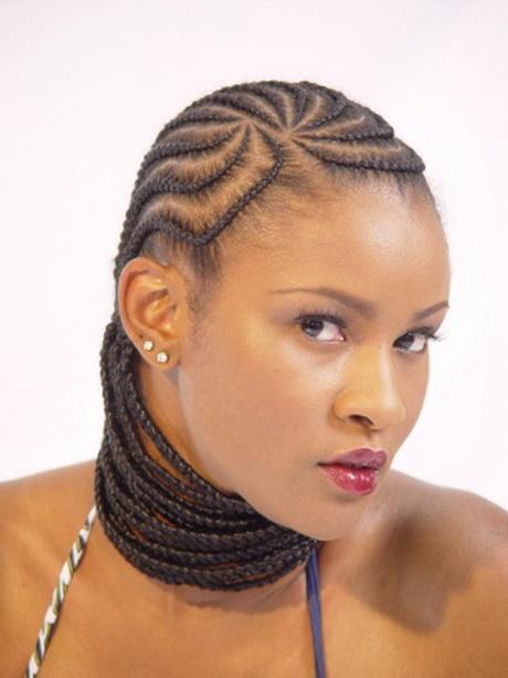Black Cornrows Hairstyles