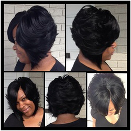 Check out other gallery of African American Feathered Bob Hairstyles ...