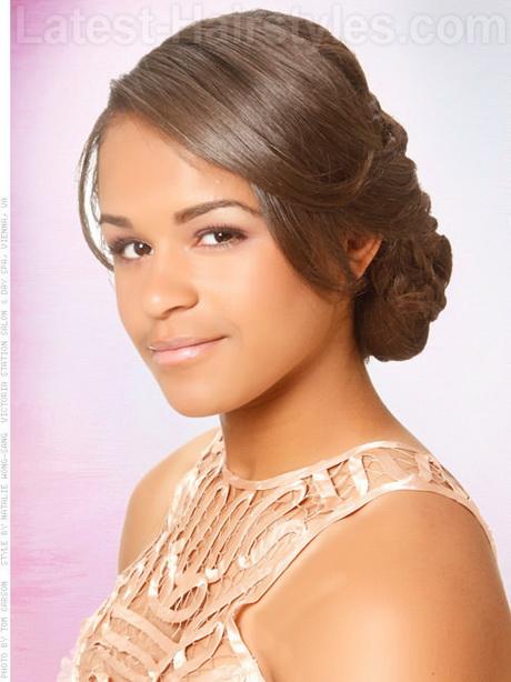 black girls prom hairstyles