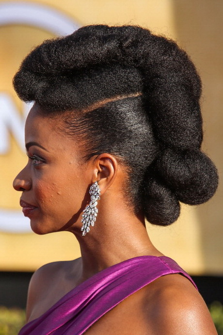 cute hairstyles for natural black hair Pictures. 19th Annual Screen