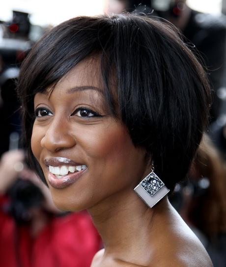 black lil girl hairstyles : ... bangs medium lengthhairstyles bob with bangs layersbob hairstyles