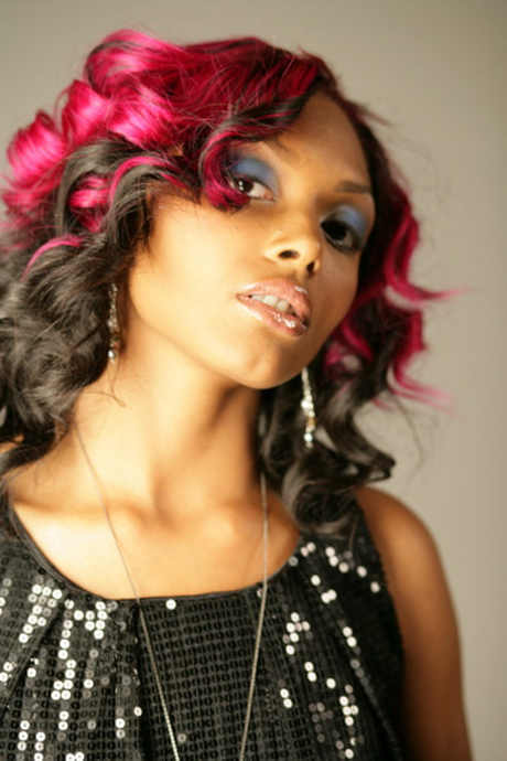 Black Hairstyles With Tracks