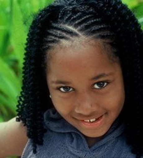 Black Kids Braided Hairstyles