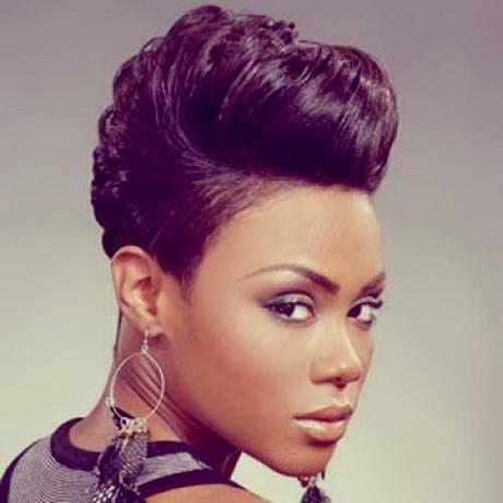 black people short hairstyles