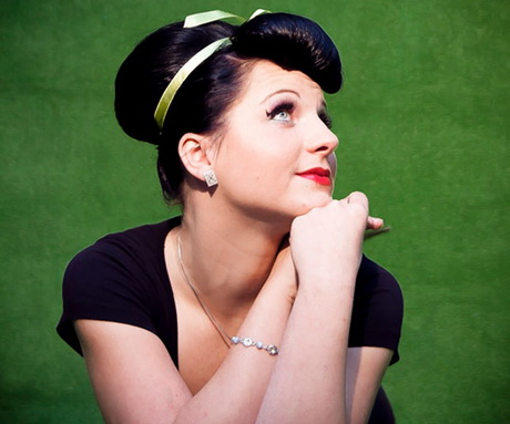 Fantastic We Will Use Some Of Our Favorite Rockabilly And Pinup Models As Guides And Muses  This Is My Favorite Rockabilly Hairstyle And Is Perfect To Wear To A Special Event Such As A Prom For Teenage Girls, A Wedding For The Women, Or