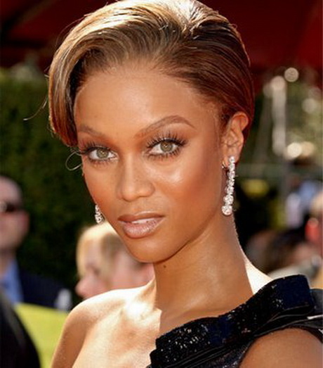 Tyra Banks Updo: Black Prom Updo Hairstyles