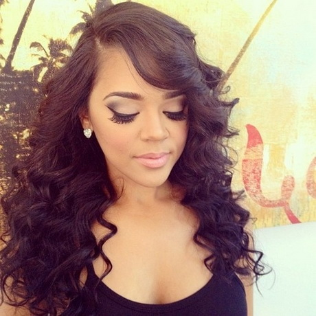 Curly Sew in Weave Hairstyles