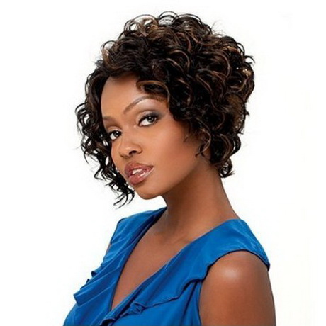 black short curly hairstyles 2015